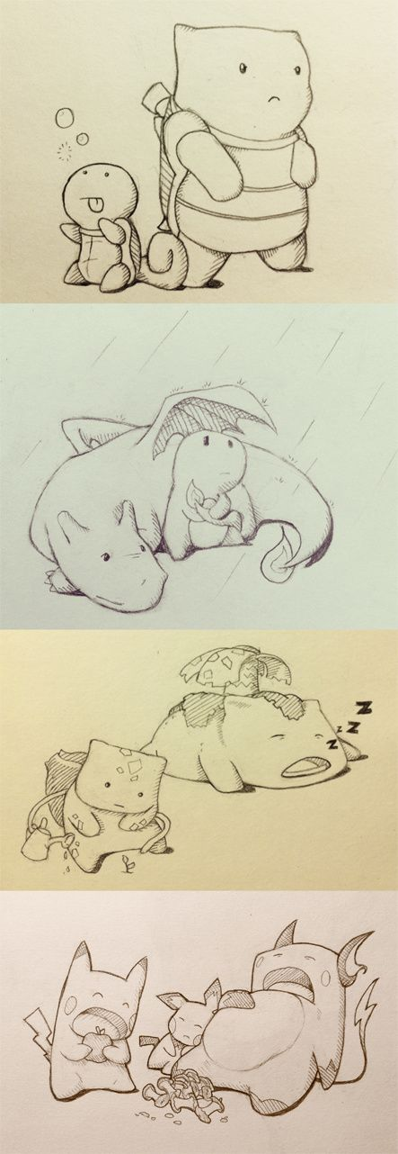 Original Starters and Evolutions | Pokémon