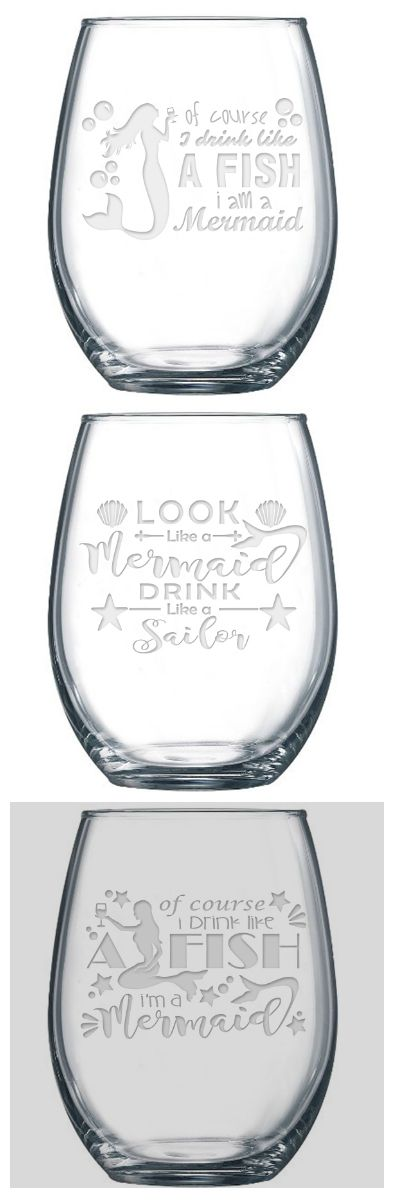 21 oz stemless wine glass, made and decorated in the USA…