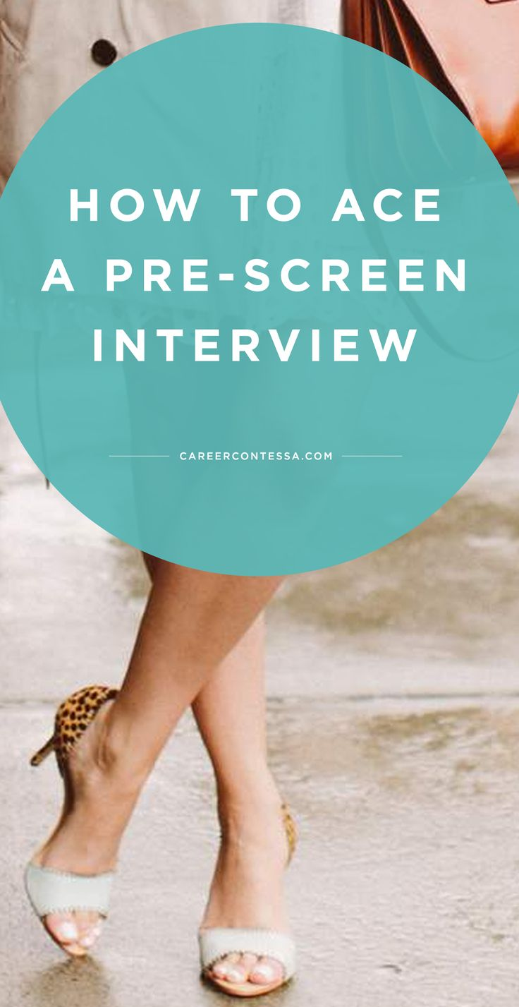 "A prescreen interview is typically the first step in starting an interview process within a company and your first opportunity to ""wow"" recruiters.  That's why we asked CC mentor and Facebook recruiter, Josilin, to share her top 5 tips for acing your prescreen interview. 