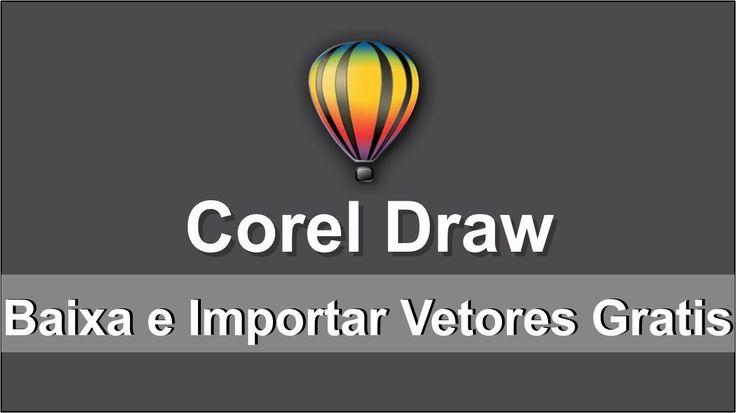 Como baixar e importar vetores para o Corel Draw