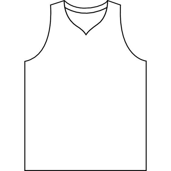 basketball jersey template printable - Google Search         table numbers: