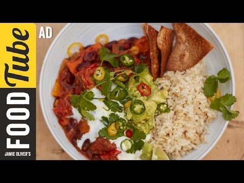 Sweet Potato Chilli | Jamie Oliver - Ad - YouTube