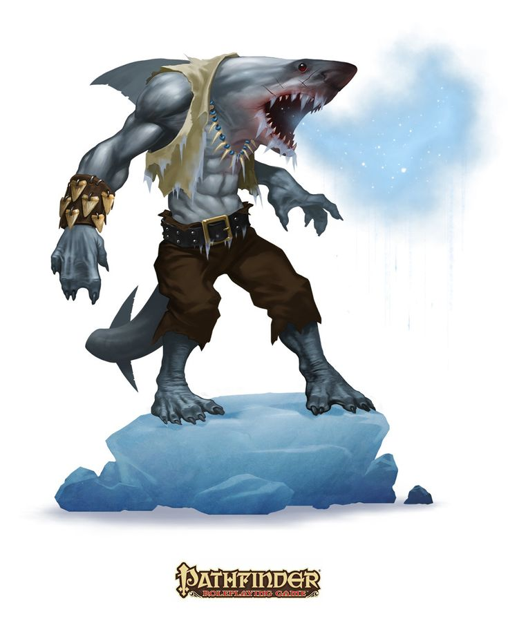 Sharkman art - photo#24