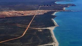 Fiercely protected ... Barrow Island, 100km off WA's Pilbara coast, has since 1910 been l