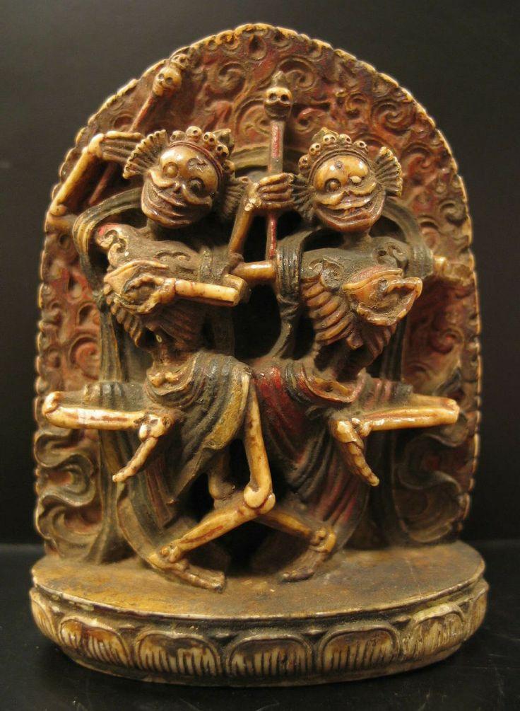 Skeleton Lords, Citipati,Tibet