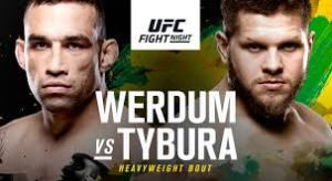 UFC Fight Night 121 (Werdum vs Tybura) Live Stream In 1080 DPS  Using Any Device  TV,PC Or Mobile.