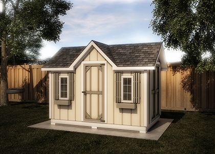 Double Entry 12 X 8 - Shed