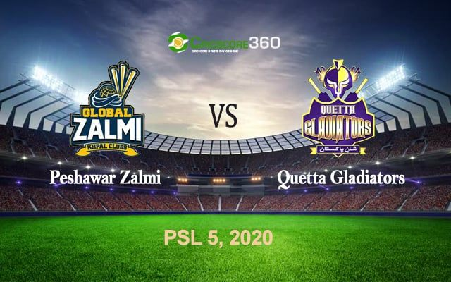 Live Update Pz Vs Qg 2020 Psl 5 Cricscore360 In 2020 With Images Psl Quetta League