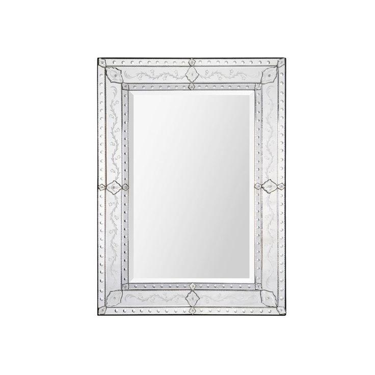 Coral Espejo de Vidrio - Natural $ 10,899.00 precio rebajado de  $ 11,409.00 Descripción  Espejo exterior finamente grabado y tallado con espejo interior biselado.  Color   Natural  Material  Vidrio  Medidas  Largo: 94 cm  Alto: 122 cm 27 julio 2017