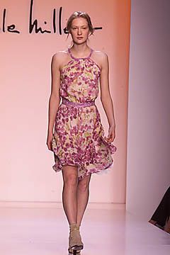 Nicole Miller Spring 2001 Ready-to-Wear Fashion Show - Nicole Miller, Erika Wall