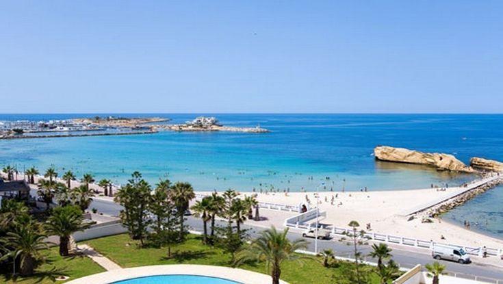 Magnifique plage de Sousse (Tunisie)