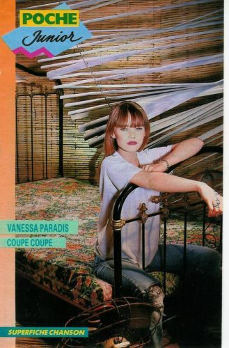 Vanessa Paradis, chanson / 1989 / Fiche / 2p. / Coupure de presse, clipping