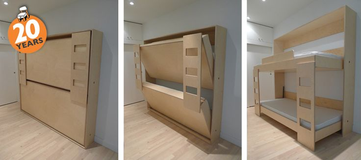 Best Folding Bunk Bed Smallspaces Microliving Small Spaces 640 x 480