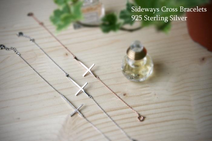 Gold Sideways Cross Bracelet Horizontal Cross Bracelets at Kellinsilver – Cross Jewelry, Side Cross Bracelets, Cross Jewellery