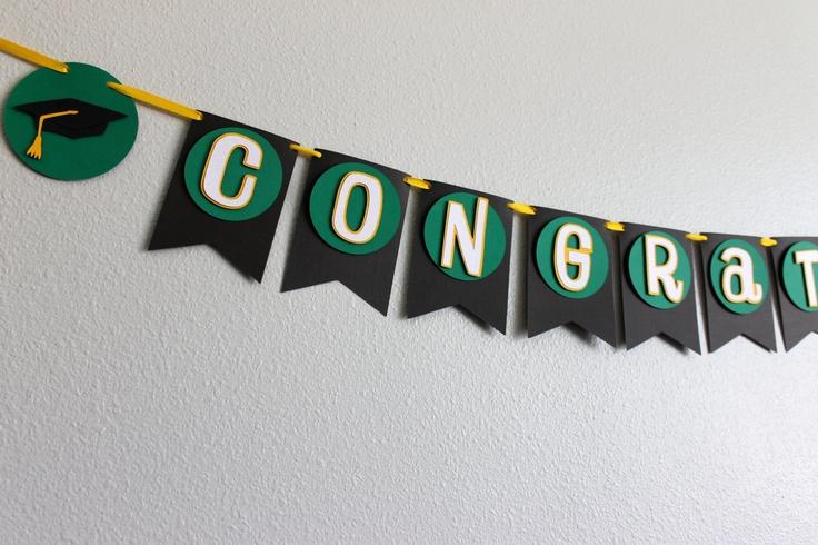 Graduation Congratulations Banner for Graduation Party ...
