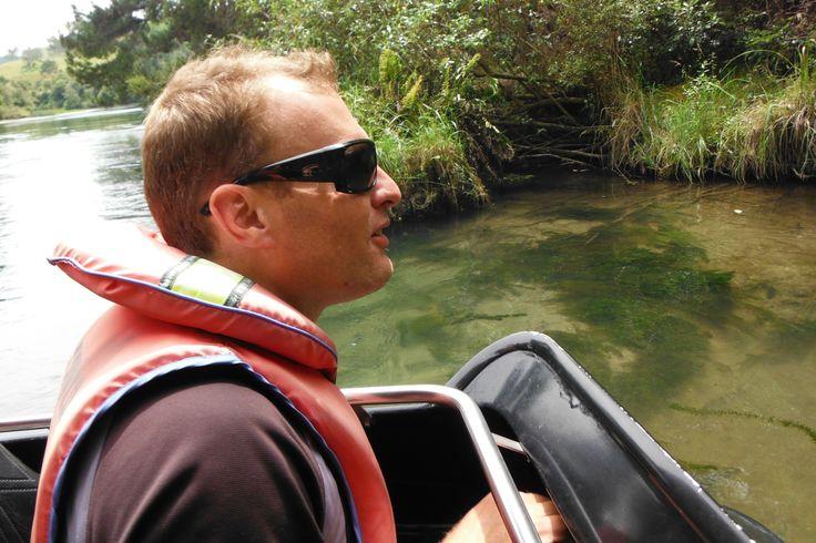 #NZ RIverjet #driver #boat