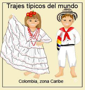 Resultado de imagen para cultura indigena caribe colombiana vestimenta hombres y mujeres