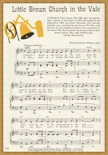 Just love this old hymn!