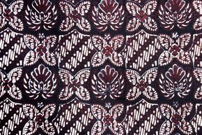 Batik Sogan Yogyakarta Motif Kawung Prabu Anom