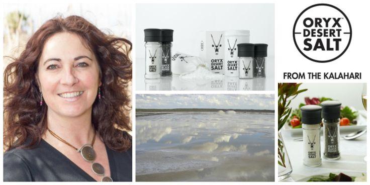 Samantha Skyring, founder of Oryx Desert Salt (South Africa)