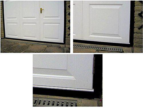 Aluminium 2,5 m & Boudin de porte de caoutchouc de Joint pour bas de porte de Garage (1,25 m x 2 pièces): Amazon.fr: Cuisine & Maison