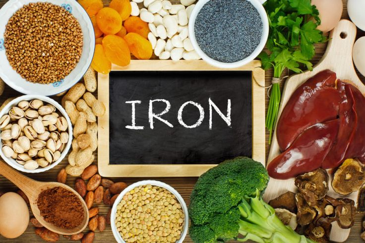 Iron deficiency is linked to many autoimmune diseases, because a large amount of stored iron is absorbed in the intestines. The damage of the gut lining and leaky gut syndrome are considered preconditions for autoimmunity. Finding the underlying problem is the first step to controlling an iron deficiency. Iron-rich foods include grass-fed beef and spinach.