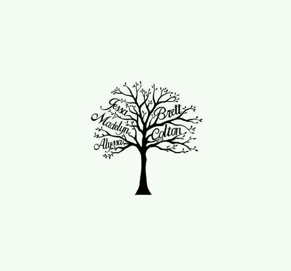 Resultado de imagen de arbol genealogico tattoo