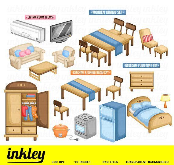 48+ Living room furniture clipart information