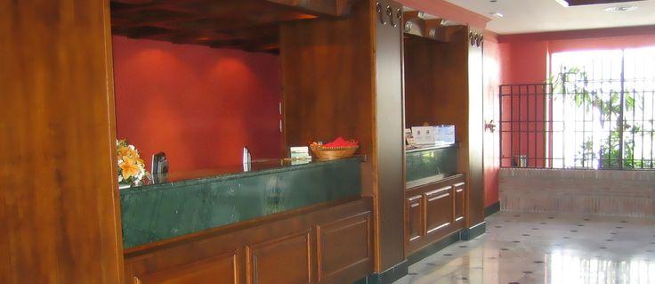 Recepción Hotel Hacienda Puerta del Sol (Mijas, Málaga)