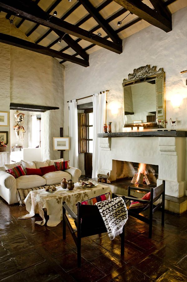 Rustic ranch in Argentina: House of Jasmines