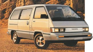 You have reached the ToyotaVanPeople.com online community of Toyota van owners. The most comprehensive resource for Toyota van information along with technical help and discussion on the Toyota Van Community Forum. This site is dedicated to providing information and resources to owners of Toyota Vans, Toyota Previa, Toyota Sienna, and Toyota Hiace, Liteace and Tarago. We offer Free VanMail and also have Free Classified Adds for vans as well as van parts.