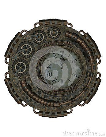 Steampunk Clock - Download From Over 28 Million High Quality Stock Photos, Images, Vectors. Sign up for FREE today. Image: 47261765