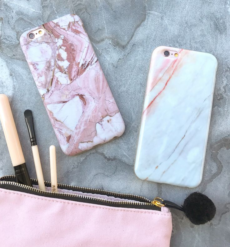 Rose Marble & Coral Case for iPhone 6/6s and 6 Plus/6s Plus from Elemental Cases