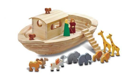 Arche Noah basteln