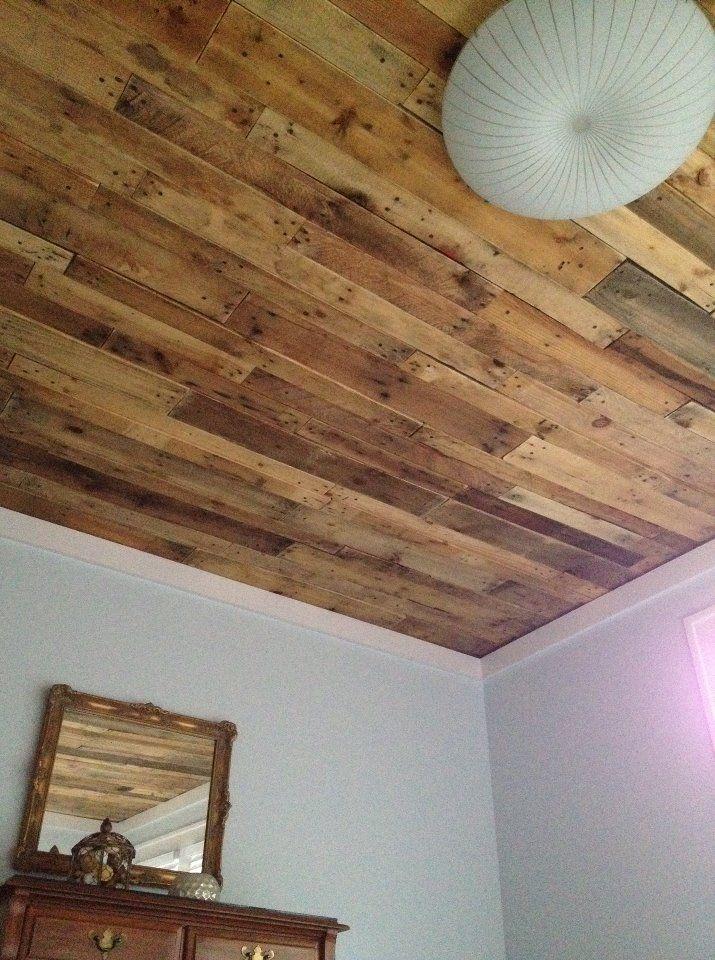 best 25 pallet ceiling ideas on pinterest. Black Bedroom Furniture Sets. Home Design Ideas