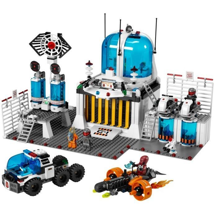 Lego Space Police Station, 5985 Listing in the Box Sets,Lego,Construction Toys,Toys & Hobbies Category on eBid United Kingdom | 143513445