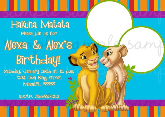 33 best lion king party images on pinterest lion king party lion king birthday invitation by lovelifeinvites on etsy bookmarktalkfo Images