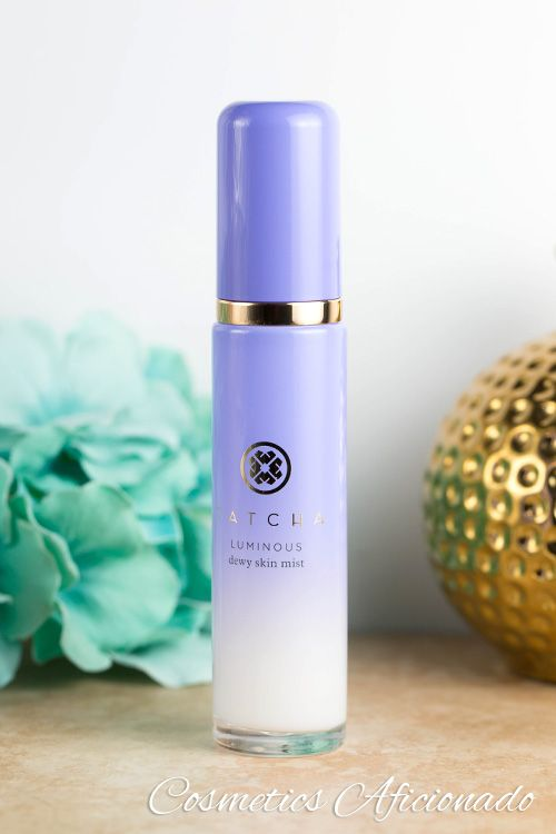 Moisturize your skin with TATCHA Luminous Dewy Skin Mist, a spray meant to refresh your skin and lightly hydrate you throughout the day.