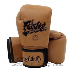New Fairtex BGV1 Muay Thai Training Sparring Boxing Gloves 12 14 16 + Hand Wraps