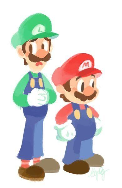 Mario and Luigi by gigidigi