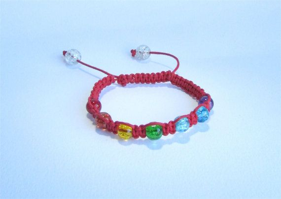 Red Healing Chakra Bracelet from Ireland by DelabudCreations