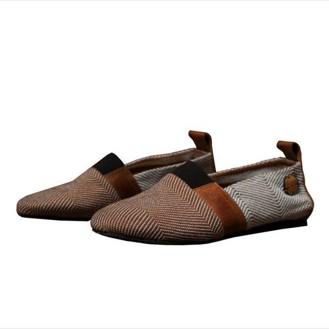 Eco Bambas sko er Eco-Friendly, trendy og komfortabel, laget av resirkulerte materialer, økologisk bomull og biologisk nedbrytbare såler.