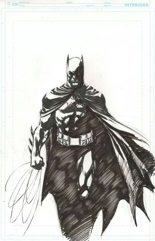 Batman By Ivan Reis This Is Awesome Batman Drawing