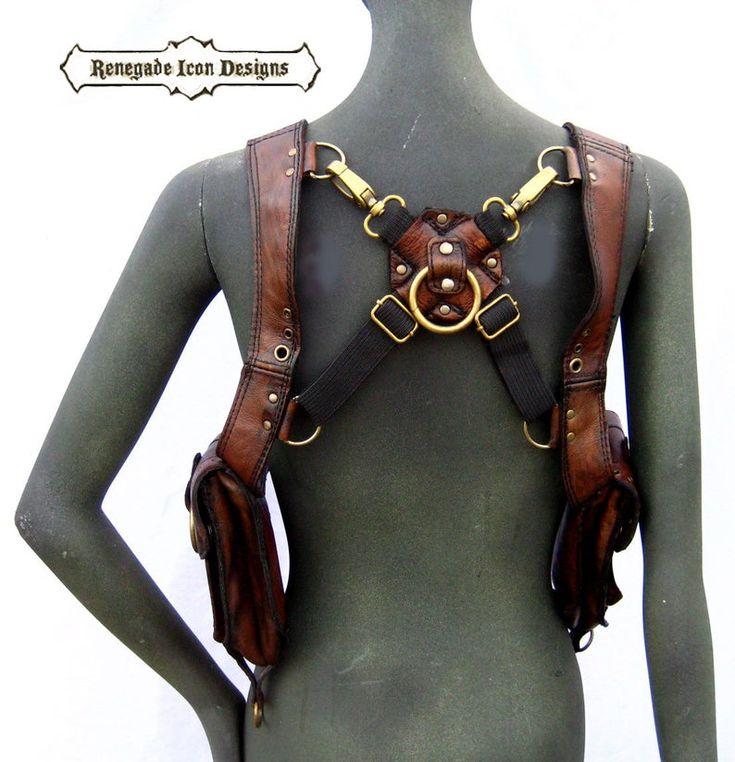 Leather bag Fringed handbag Leather hip bag GALADRIEL Burning Man purse Leather purse Festival bag NEW Ibiza  bag