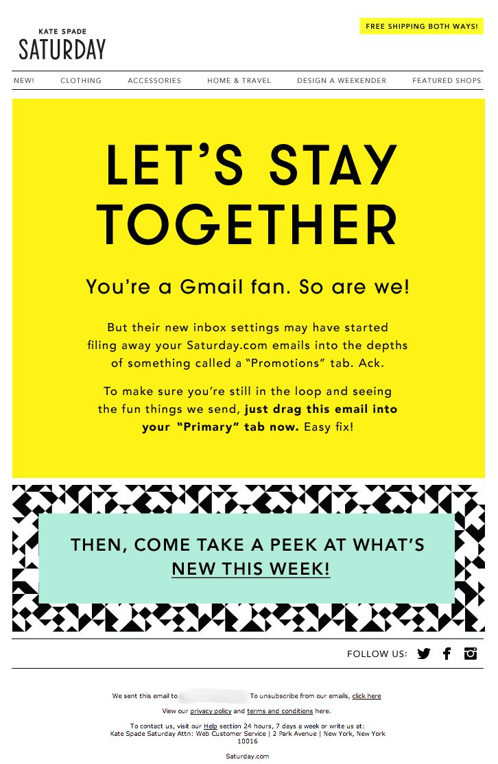 75 best re engagement emails images on pinterest engagement emails gmail tab email campaign to try to handle the introduction of the gmail tabbed inbox spiritdancerdesigns Gallery