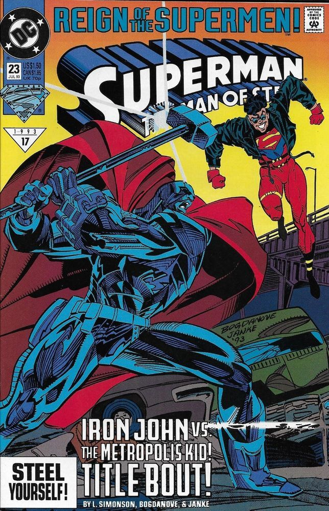 Dc Superman Man Of Steel Comic Issue 23 Superman Comic Man Of Steel Superman Man Of Steel