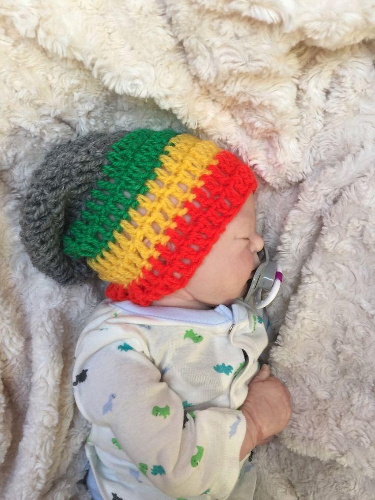 Baby boy girl crocheted knitted hippie hippy boho Slouch