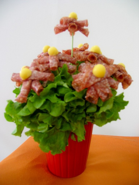 Salami Flowers by VisualFood Design, via Flickr