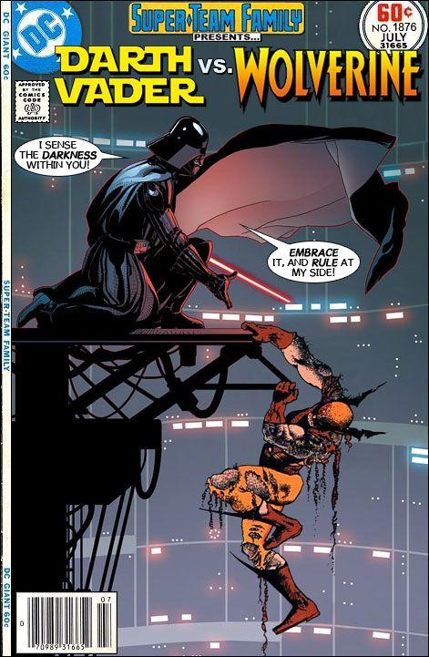 1f77f1e5 Super-Team Family: The Lost Issues!: Darth Vader Vs. Wolverine ...