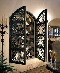 IDEA FOR NICHE: Tuscan Style wine rack--build into a wall?! AWESOME!!!
